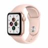 Apple Watch SE GPS + Cellular 44mm Gold Aluminum Case with Pink Sand Sport B. (MYEP2/MYEX2)