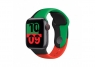 Apple Watch Series 6 GPS + Cellular 40mm Black Unity Aluminum Case with Sport Band (MJ6Q3/MJ6R3)