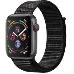 Apple Watch Series 4 GPS + LTE 44mm Gray Alum. w. Black Sport l. Gray Alum. (MTUX2, MTVV2)
