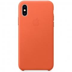 Apple iPhone XS Leather Case - Sunset (MVFQ2)