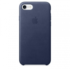 Apple iPhone 7 Leather Case - Midnight Blue (MMY32)