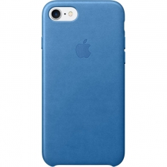 Apple iPhone 7 Leather Case - Sea Blue (MMY42)