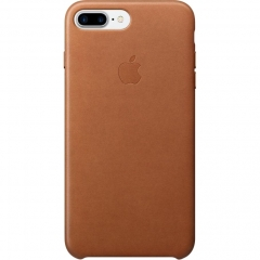 Apple iPhone 7 Plus Leather Case - Saddle Brown (MMYF2)