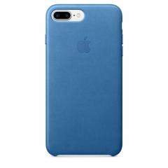 Apple iPhone 7 Plus Leather Case - Sea Blue (MMYH2)