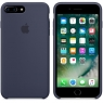 Apple iPhone 7 Plus Silicone Case - Midnight Blue (MMQU2)