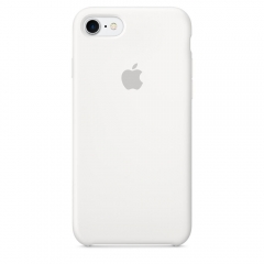 Apple iPhone 7 Silicone Case - White (MMWF2)