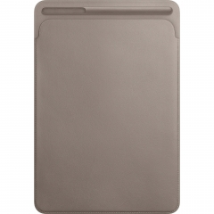 Apple Leather Sleeve for 10.5 iPad Pro - Taupe (MPU02)