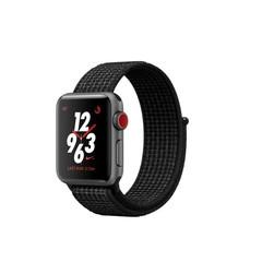 Apple Watch Nike+ Series 3 GPS + Cellular 38mm Space Gray Aluminum w. Black/Pure PlatinumSport L. (MQL82)