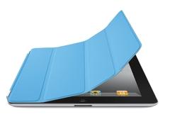 Apple Smart Cover для iPad 2/3/4 полиуретан синий MD310