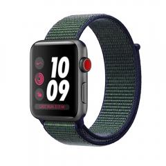 Apple Watch Series 3 Nike+ Cellular 42mm Space Gray Aluminum w. Midnight Fog Nike Sport L. (MQLH2)