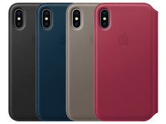 iPhone X Leather Folio