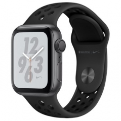 Apple Watch Nike+ Series 4 GPS 40mm Gray Alum. w. Anthracite/Black Nike Sport b. Gray Alum. (MU6J2)