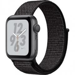 Apple Watch Nike+ Series 4 GPS 40mm Gray Alum. w. Black Nike Sport l. Gray Alum. (MU7G2)