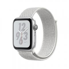 Watch Nike+ Series 4 GPS 44mm Silver Alum. w. Summit White Nike Sport l. Silver Alum. (MU7H2)