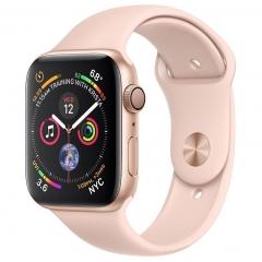 Apple Watch Series 4 GPS 40mm Gold Alum. w. Pink Sand Sport b. Gold Alum. (MU682)