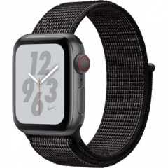 Apple Watch Nike+ Series 4 GPS + LTE 40mm Gray Alum. w. Black Nike Sport l. Gray Alum. (MTX82)