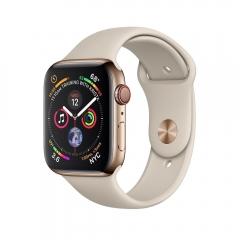 Apple Watch Series 4 GPS + LTE 40mm Gold Steel w. Stone Sport B. (MTUR2, MTVN2)