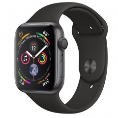 Apple Watch Series 4 GPS 44mm Gray Alum. w. Black Sport b. Gray Alum. (MU6D2)