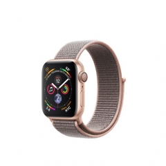 Apple Watch Series 4 GPS 40mm Gold Alum. w. Pink Sand Sport l. Gold Alum. (MU692)