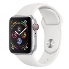 Apple Watch Series 4 GPS + LTE 40mm Silver Alum. w. White Sport b. Silver Alum. (MTUD2, MTVA2)