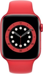 Apple Watch Series 6 GPS + Cellular 44mm PRODUCT(RED) Aluminum Case w. PRODUCT(RED) Sport B. (M07K3/M09C3)