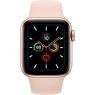 Apple Watch Series 5 LTE 40mm Gold Aluminum w. Pink Sand b.- Gold Aluminum (MWWP2)
