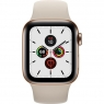 Apple Watch Series 5 LTE 40mm Gold Steel w. Stone b.- Gold Steel (MWWU2)