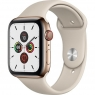 Apple Watch Series 5 LTE 44mm Gold Steel w. Stone b.- Gold Steel (MWW52)