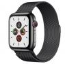 Apple Watch Series 5 LTE 44mm Space Black Steel w. Space Black Milanese Loop - Space Black Steel (MWW82/MWWL2)
