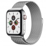 Apple Watch Series 5 LTE 44mm Steel w. Steel Milanese Loop - Steel (MWW32)