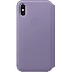 Apple iPhone XS Leather Folio - Lilac (MVF92)
