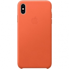 Apple iPhone XS Max Leather Case - Sunset (MVFY2)