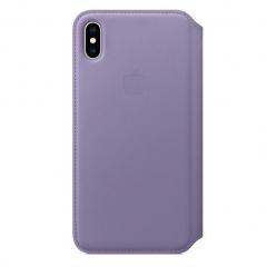 Apple iPhone XS Max Leather Folio - Lilac (MVFV2)