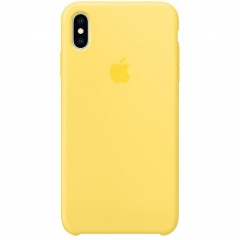 Apple iPhone XS Max Silicone Case - Canary Yellow (MW962)