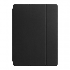 Apple Leather Smart Cover for 12.9 iPad Pro - Black (MPV62)