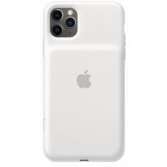 Apple iPhone 11 Pro Max Smart Battery Case - White (MWVQ2)