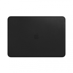 """Apple Leather Sleeve for 13"""" MacBook Pro – Black (MTEH2)"""
