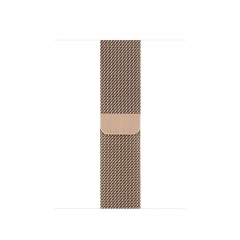 Apple Milanese Loop Band Gold for Apple Watch 40mm/38mm (MTU42)