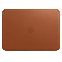 """Apple Leather Sleeve for 12"""" MacBook - Saddle Brown (MQG12)"""