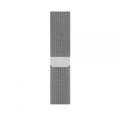 Apple Milanese Loop Band Silver for Apple Watch 44mm/42mm (MTU62)