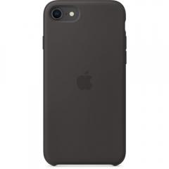 Apple iPhone SE Silicone Case - Black (MXYH2)