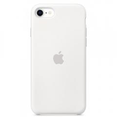 Apple iPhone SE Silicone Case - White (MXYJ2)