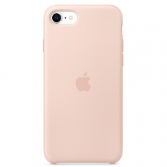 Apple iPhone SE Silicone Case - Pink Sand (MXYK2)