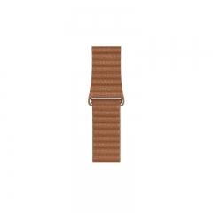 Apple Leather Loop Saddle Brown Medium 44mm/42mm (MXAF2)