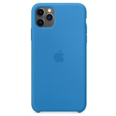 Apple iPhone 11 Pro Max Silicone Case - Surf Blue (MY1J2)