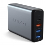 Satechi USB-C 75W Travel Charger Space Gray (ST-MCTCAM)