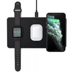 Satechi Trio Wireless Charging Pad Space Grey (ST-X3TWCPM)