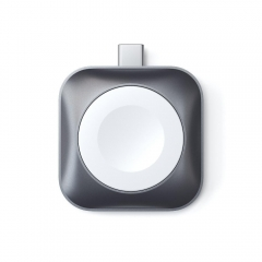 Satechi Type-C Magnetic Charging Dock for Apple Watch Space Gray (ST-TCMCAWM)