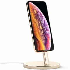 Satechi Aluminum Desktop Charging Stand Gold (ST-AIPDG)