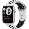 Apple Watch Nike SE GPS 44mm Silver Aluminum Case w. Pure Platinum/Black Nike Sport B. (MYYH2)